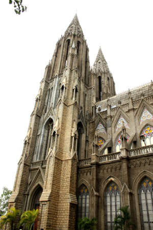 hymn: St.Philomena Church, Mysore - a hymn in stone, the second largest church in Asia Stock Photo