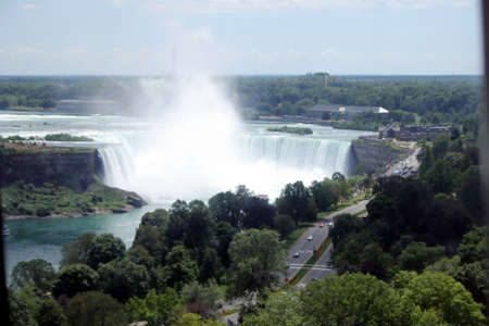 niagara river: Niagara Falls Canada - Gods wonderful creation Stock Photo