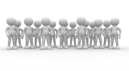 contributor: 3d people - human character - group  This is a 3d render illustration