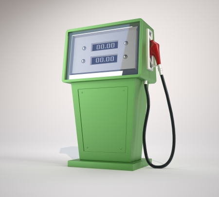 Fuel pump. This is a 3d render illustration illustration