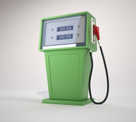 pompe: Pompa carburante. Questo � un esempio di rendering 3d