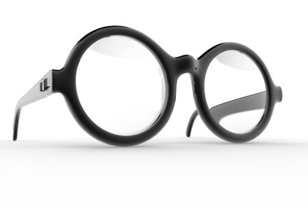 eye wear: Eyeglasses  3d render illustration