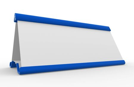 Name-plate. 3d render