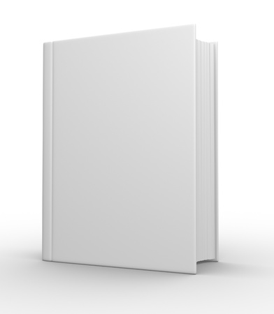 magazine stack: Big book  3d render Stock Photo