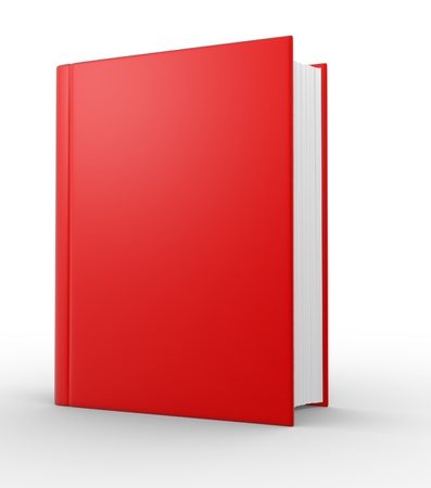 stack of documents: Big book  3d render illustration