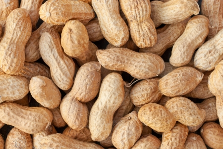 background with peanuts nuts peanuts Stock Photo