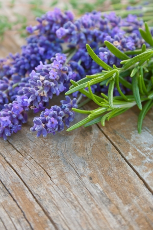 Lavender, rosemary and thyme