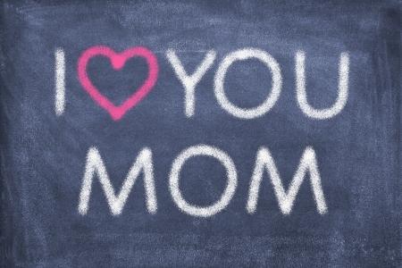 te amo: Pizarra con letras Te amo mam�