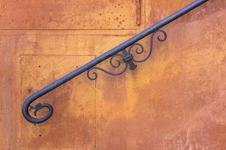 ironwork: Banister of a Roman villa