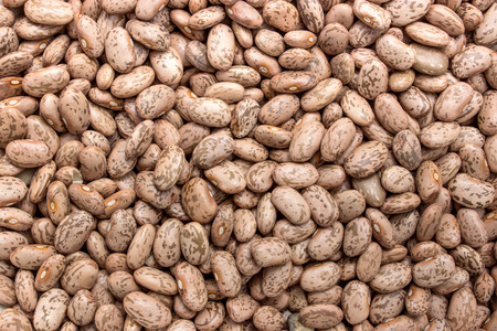 brown: brown dried pinto beans Stock Photo