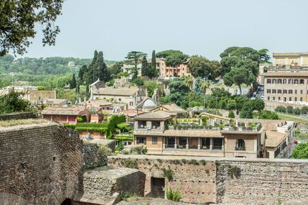 palatine: View of Rome from the Palatine Hill