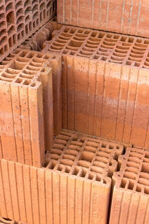 hollow: Stack with hollow bricks