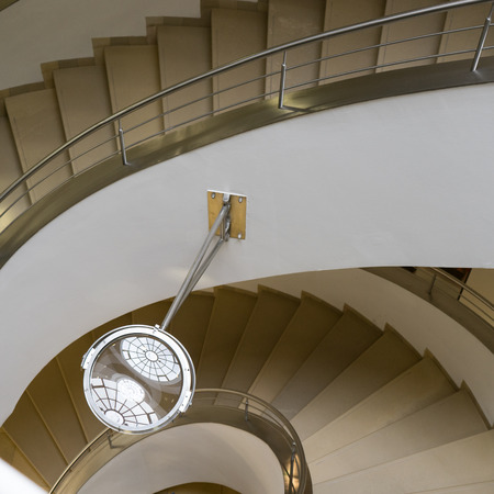 Detail of the staircase in the Goethe house in Weimar Editorial