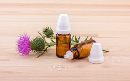 Mariendistel und homöopathische Medizin