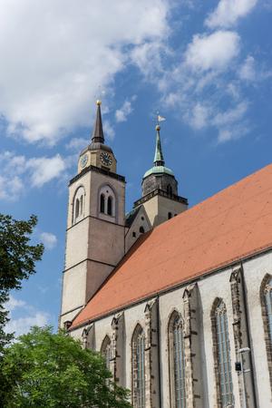 Johanneskirche in Magdeburg, Deutschland Standard-Bild