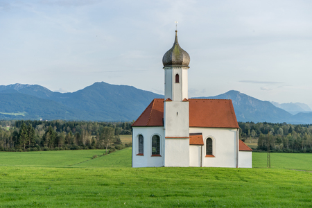 Church of St. Johann in Penzberg, Bavaria, Germany