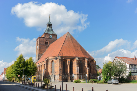Gothic church Sankt Nikolai in Osterburg, Germany