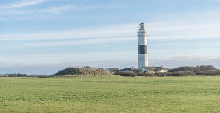 The lighthouse of Kampen on the Island of Sylt Standard-Bild