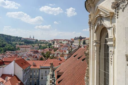 View from the dome of St. Nicholas Church on Prague
