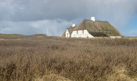 Historical house Cliff-End at the Red Cliff in Kampen on the island of Sylt