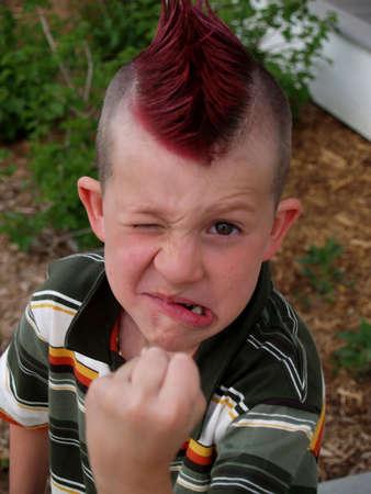angry kid Stock Photo - 424221