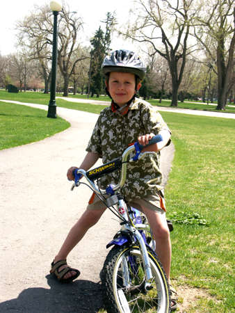 Child with Bike
