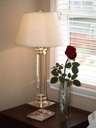 Bed side table Reklamní fotografie