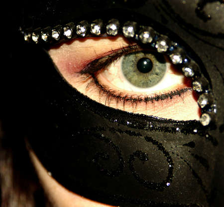 eye in mask