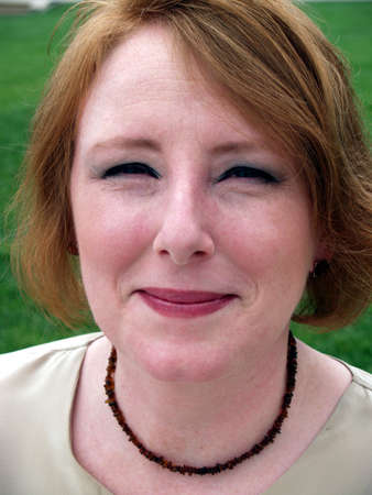 buisness woman: smile