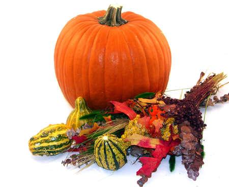 Harvest centerpiece photo