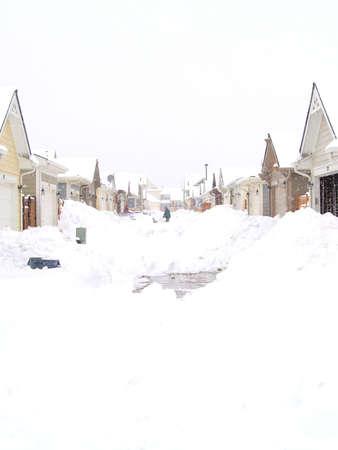 denver co: Blizzard de vacaciones de 2006, Denver, CO Foto de archivo