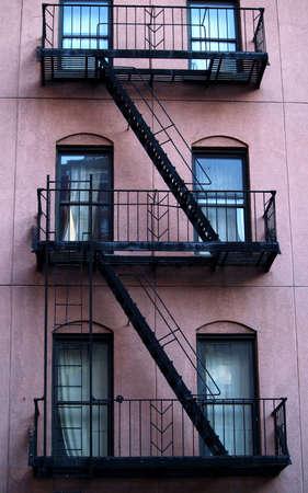 rungs: Edificio De Nueva York Foto de archivo