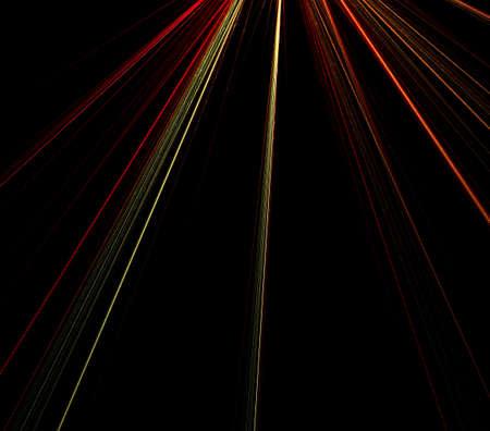 Ontworpen om te imiteren stralen van de hemelse licht in rood en goud.