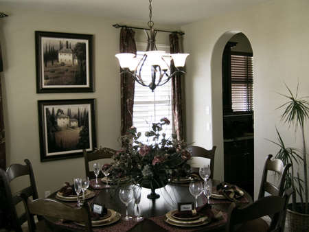 Nice dining room photo