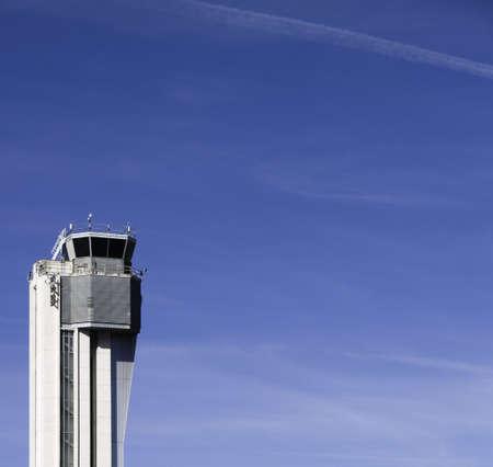 denver co: Torre de control jubilada del tr�fico a�reo, aeropuerto de Stapleton, Denver, CO.