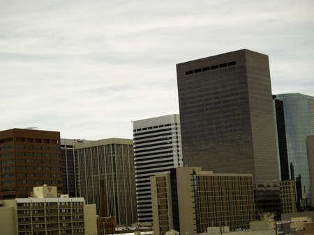 denver co: Centro de la ciudad, Denver, CO tal como se ven los edificios de suroeste a este.