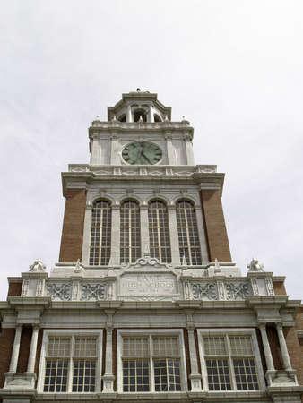 national landmark: Dever, punto di riferimento le emissioni di CO Oriente Highschool torre. Storico Nazionale riferimento
