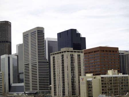 denver co: Downtown, Denver, CO edificios como desde el suroeste a este. Todos los ojos estar�n en Denver, Colorado para el pr�ximo a�o la Convenci�n Nacional Democr�tica