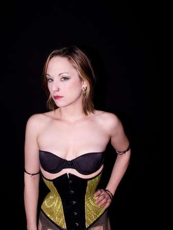 woman in corset Stock Photo - 942345