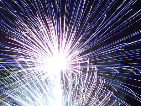 fire works: An exciting fire works display Stock Photo