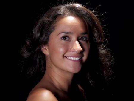 Pretty young native american girl Stock Photo - 5353091