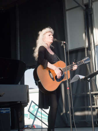 collins: Judy Collins performs at Harvistaval, Wellington, CO.  September 13, 2010