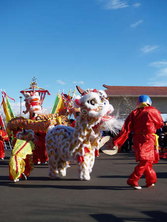 Chinese New Year Celebration,  Denver Colorado, 2005 - Editorial Use Stock Photo - 10340071