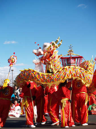 chinatown: Chinese New Year Celebration,  Denver Colorado, 2005 - Editorial Use