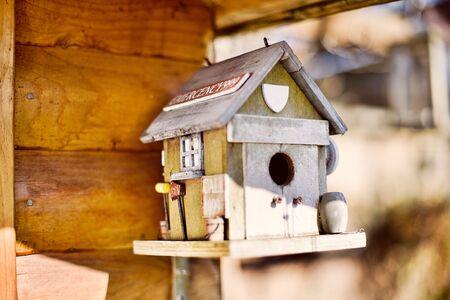 estacion de bomberos: estaci�n de bomberos ave casa Foto de archivo
