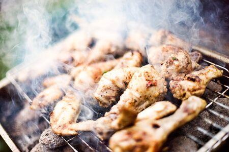 piri piri: Barbecue Flame Smoke