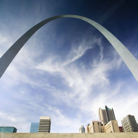gateway: St Louis Arch St Louis Missouri USA