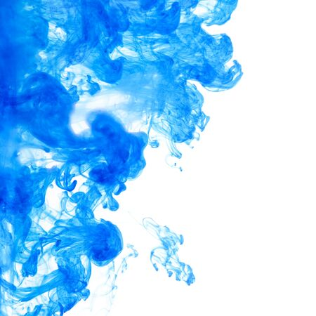ink in water: abstract ink squirted into water