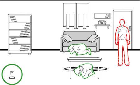illustrazione vettoriale di un metodi di protezione terremoto