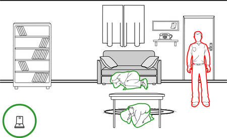 cling: vector illustration of a earthquake protection methods